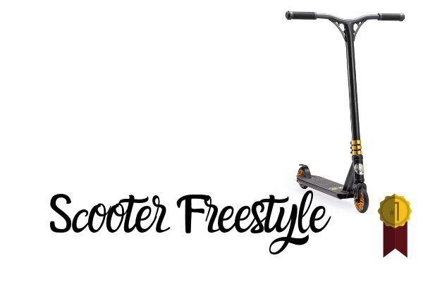 Ideal para Hacer Trucos Profesionales Muy Resistente hasta 10 A/ños Bestial Wolf Jackie-Red Pro Scooter Freestyle Patinete Nivel Inciacion