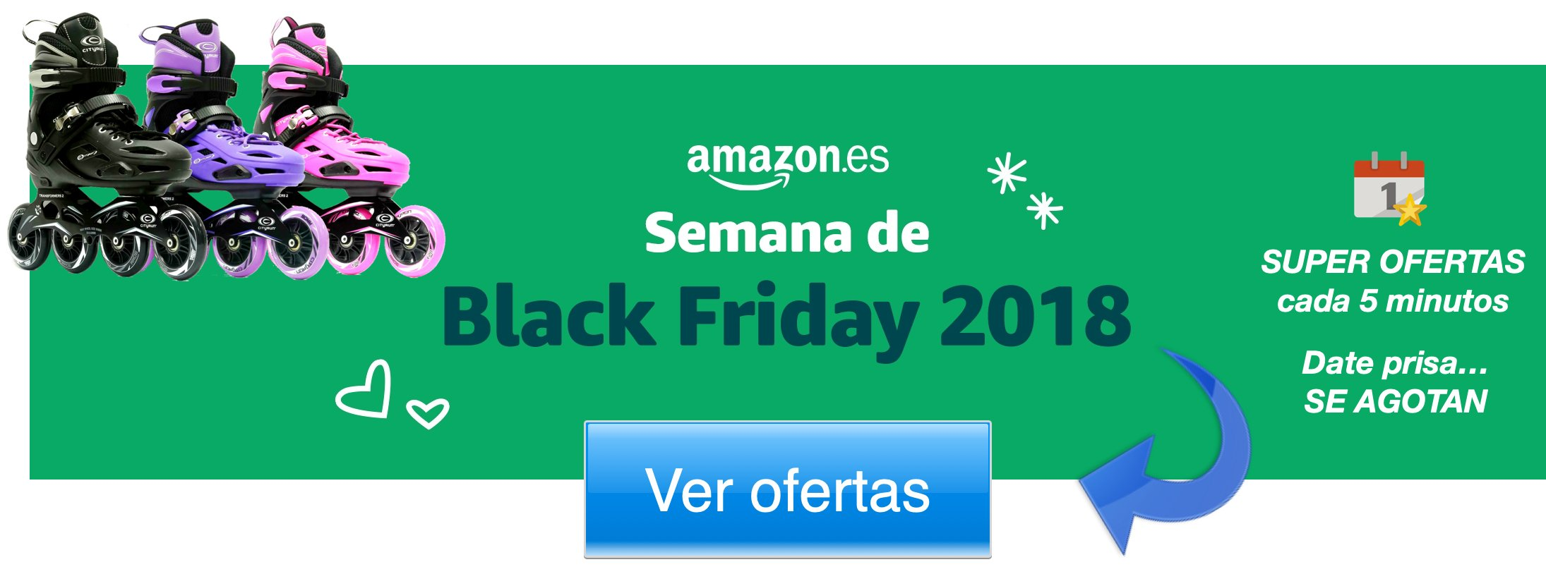 Banner amazon black friday patines